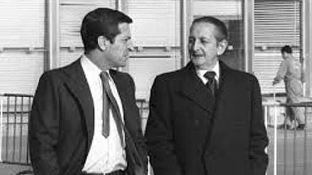 Adolfo Suárez y Torcuato Fernández Miranda.